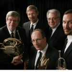 American Brass Quintet group pose
