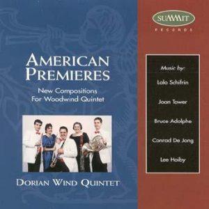 American Premieres – Dorian Wind Quintet