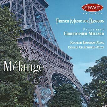 Melange: French Music for Bassoon – Christopher Millard | Summit Records
