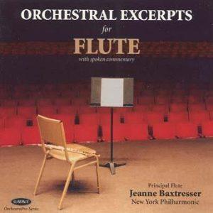 OrchestraPro: Flute – Jeanne Baxtresser