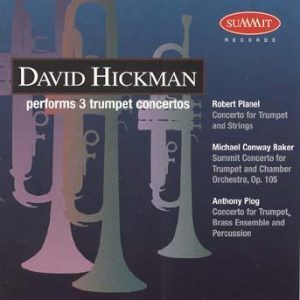 Three Trumpet Concertos – David Hickman