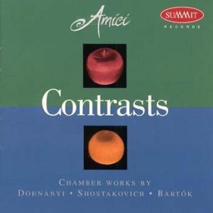 Contrasts – Amici Chamber Ensemble