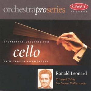 OrchestraPro: Cello – Ronald Leonard