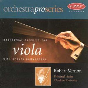 OrchestraPro: Viola – Robert Vernon