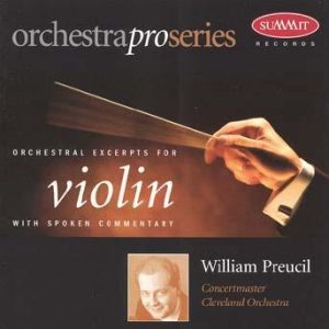 OrchestraPro: Violin – William Preucil