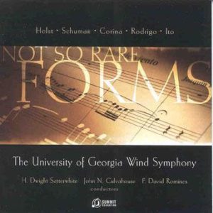 Forms…(not so rare) – University of Georgia Wind Symphony