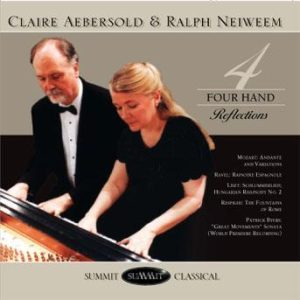 Four Hand Reflections – Aebersold and Neiweem piano duo