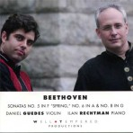 Beethoven Sonatas for Violin and Piano Nos. 5, 6 & 8 - Daniel Guedes