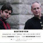 Beethoven Sonatas for Violin and Piano Nos. 5, 6 & 8 – Daniel Guedes